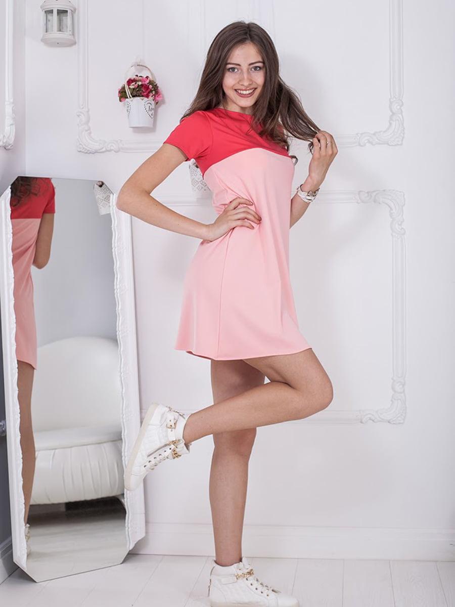 Платье двухцветное | 5036384
