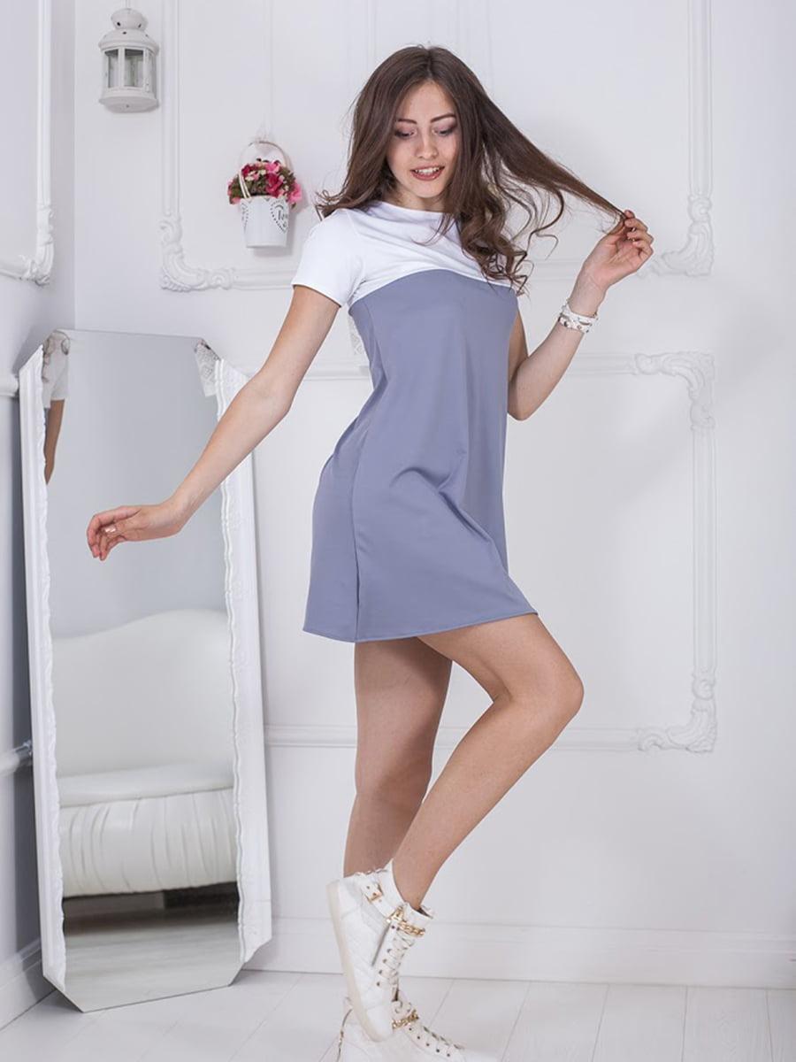 Платье двухцветное | 5036388