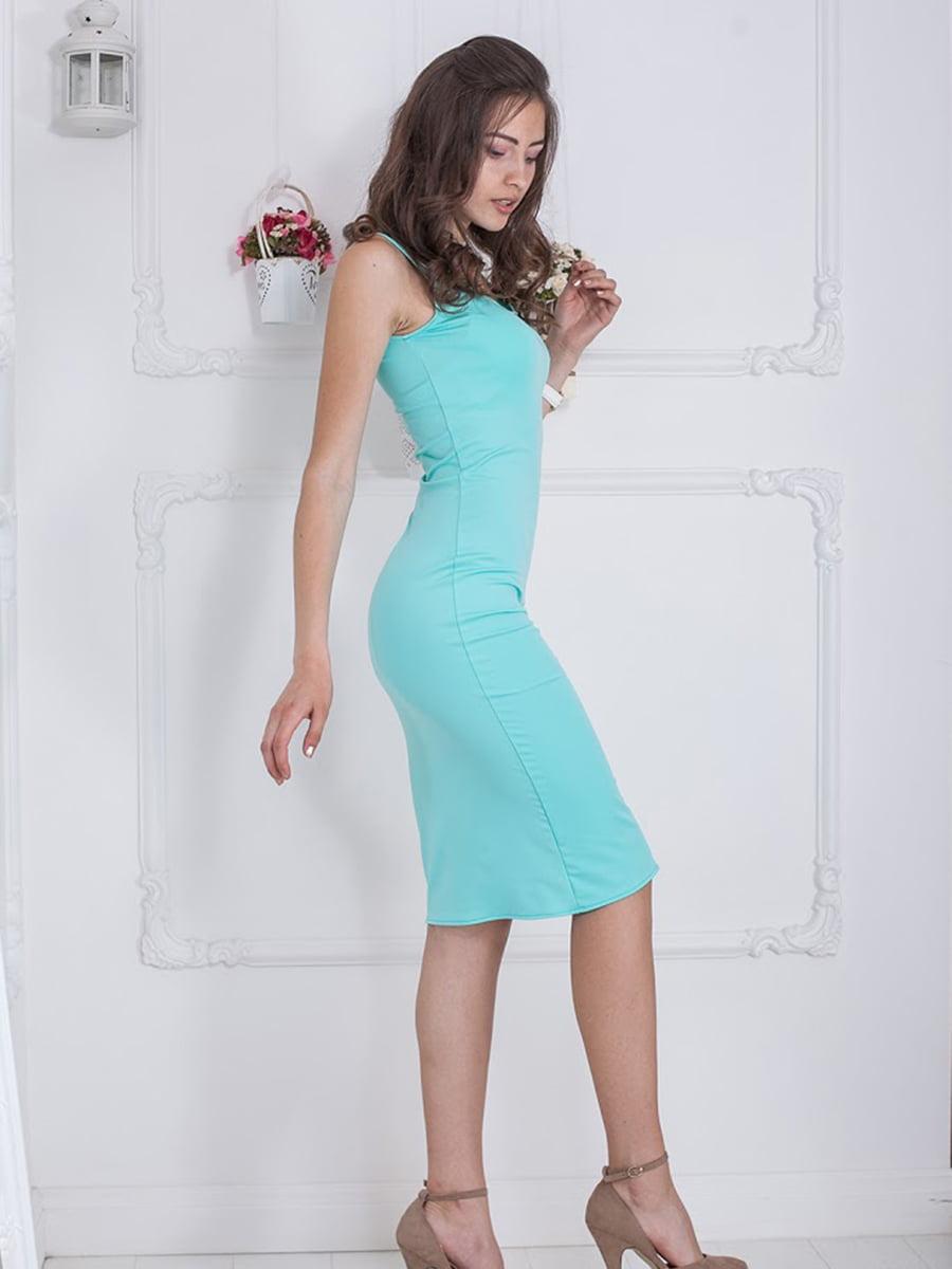 Платье мятного цвета | 5036409