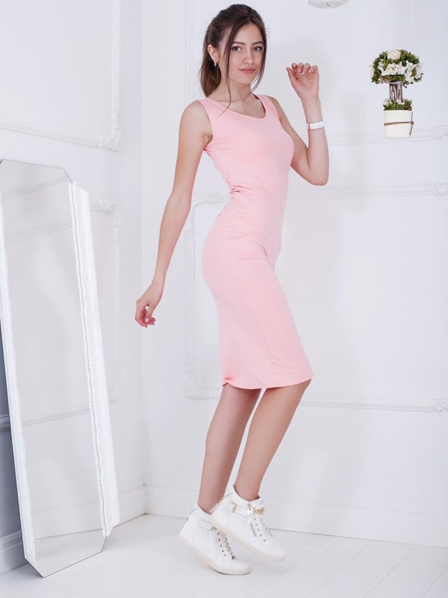 Платье розовое   5036417