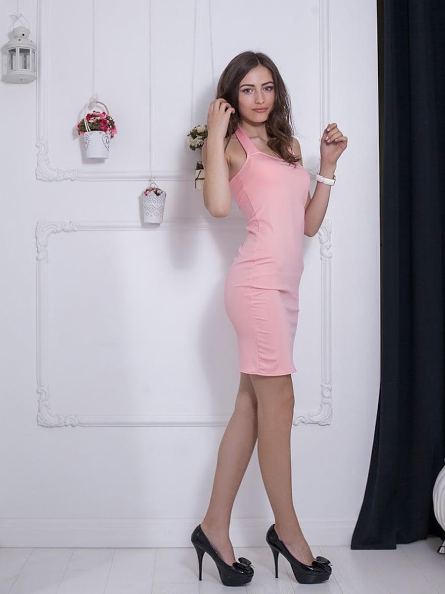 Платье розовое | 5036424