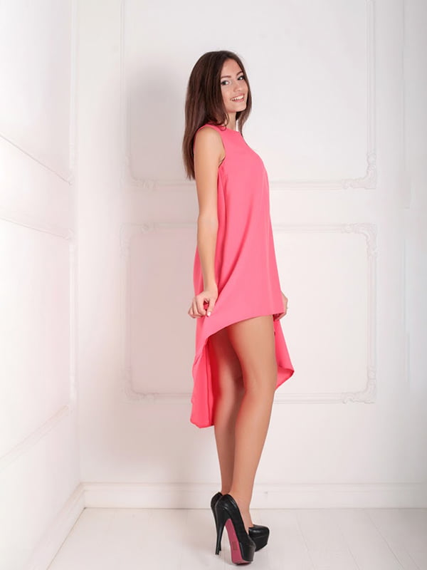 Платье коралловое | 5036436