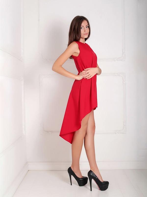 Платье красное   5036438