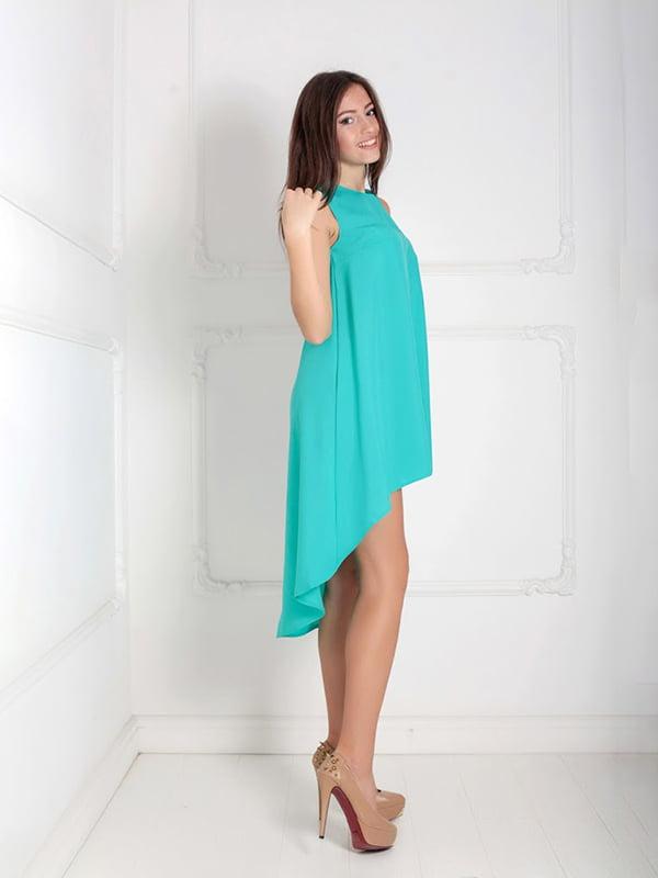 Платье ментолового цвета | 5036439