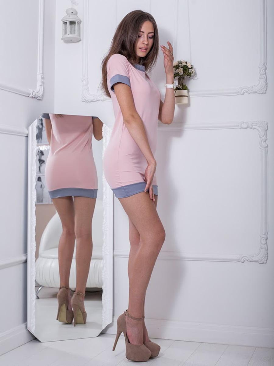 Платье розовое | 5036464