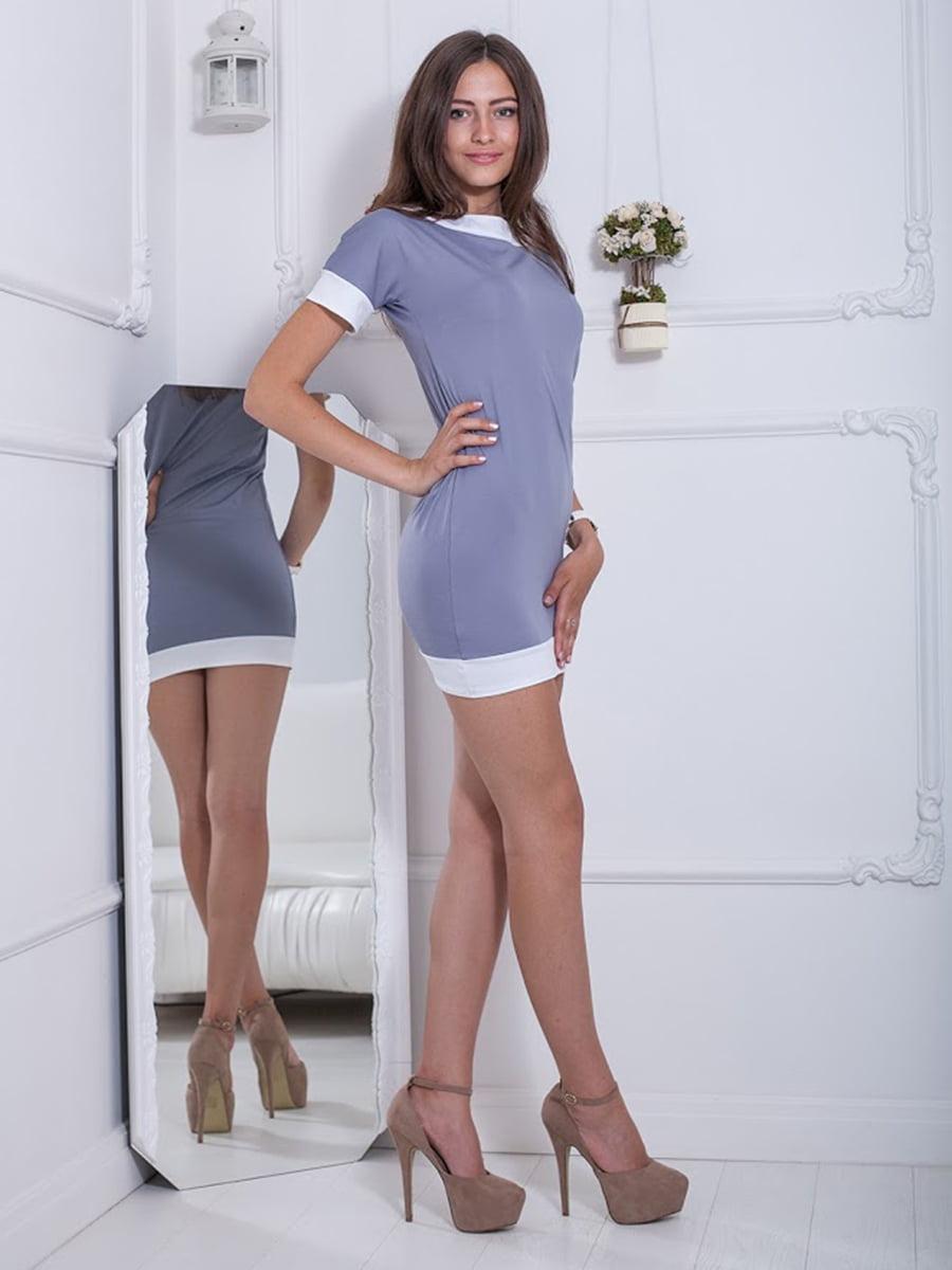 Платье серое | 5036468