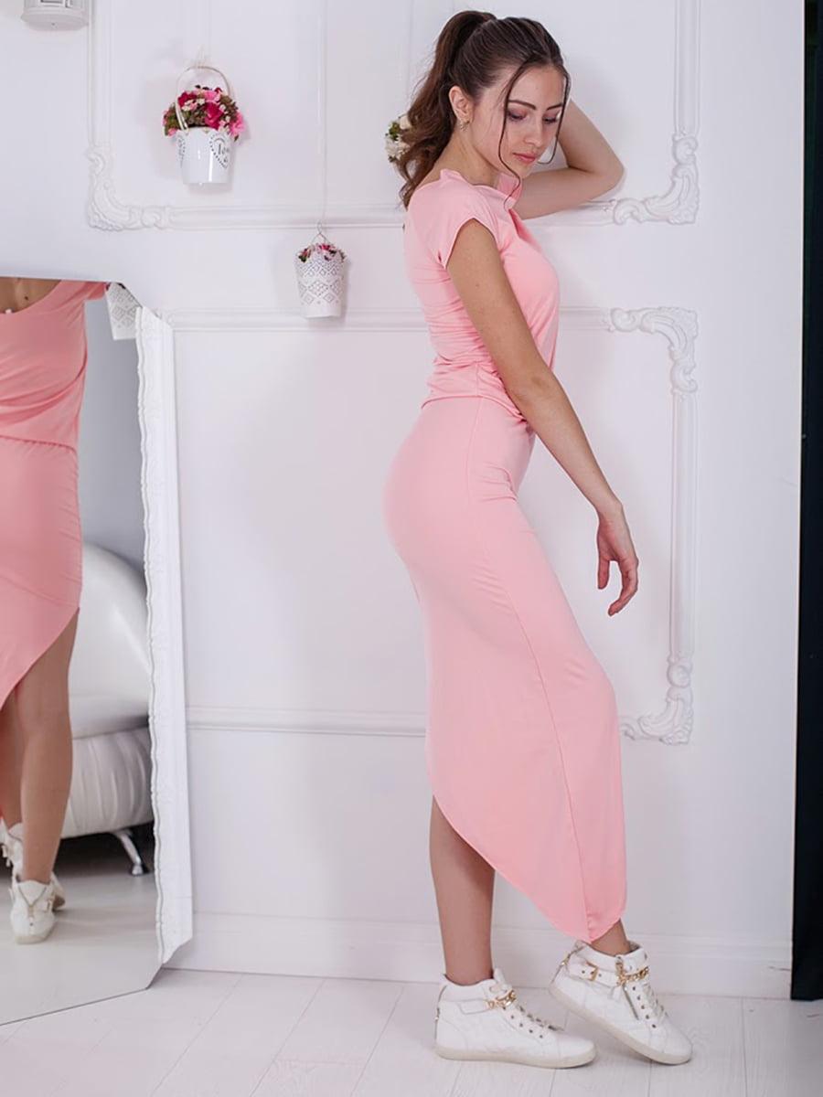 Платье розовое | 5036473