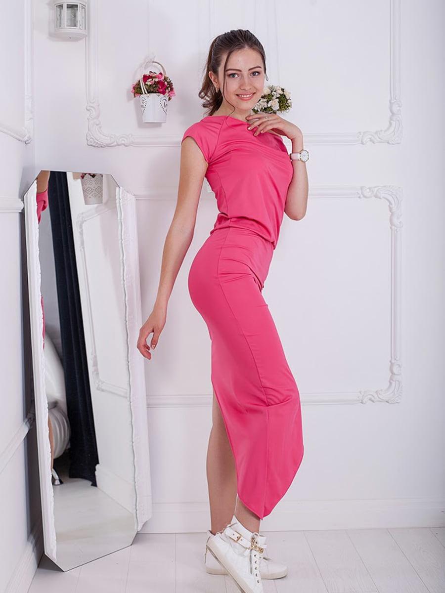 Платье розовое | 5036474