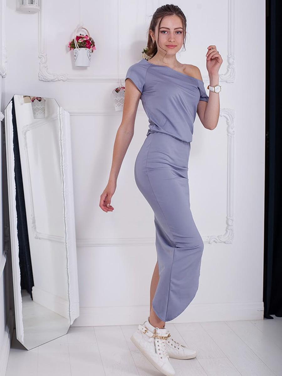 Платье серое | 5036477
