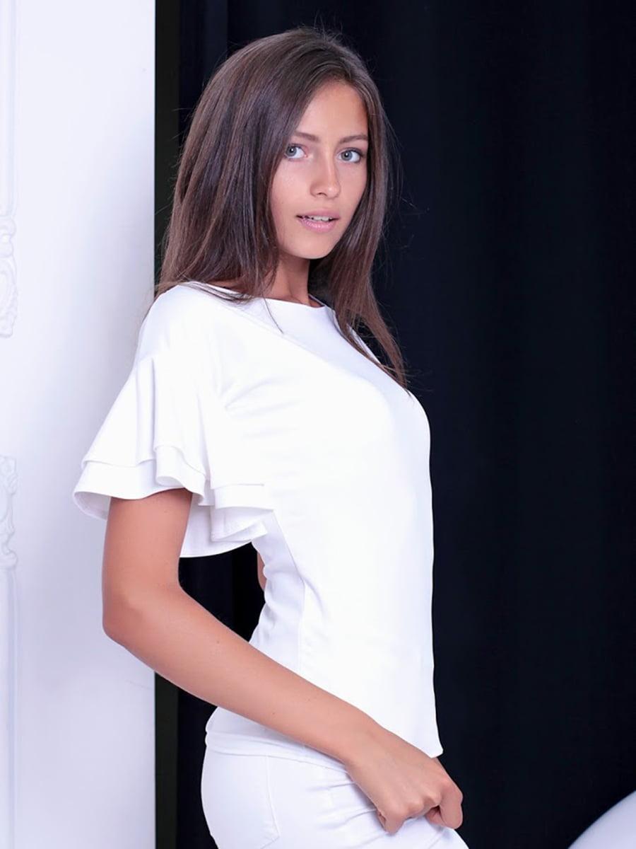 Блуза белая   5036486