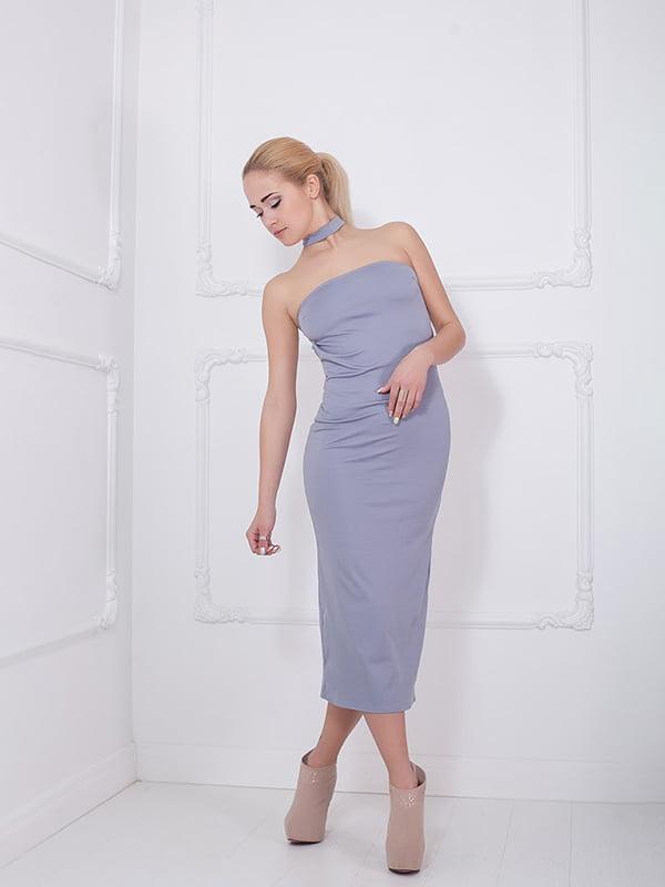 Платье серое   5036520