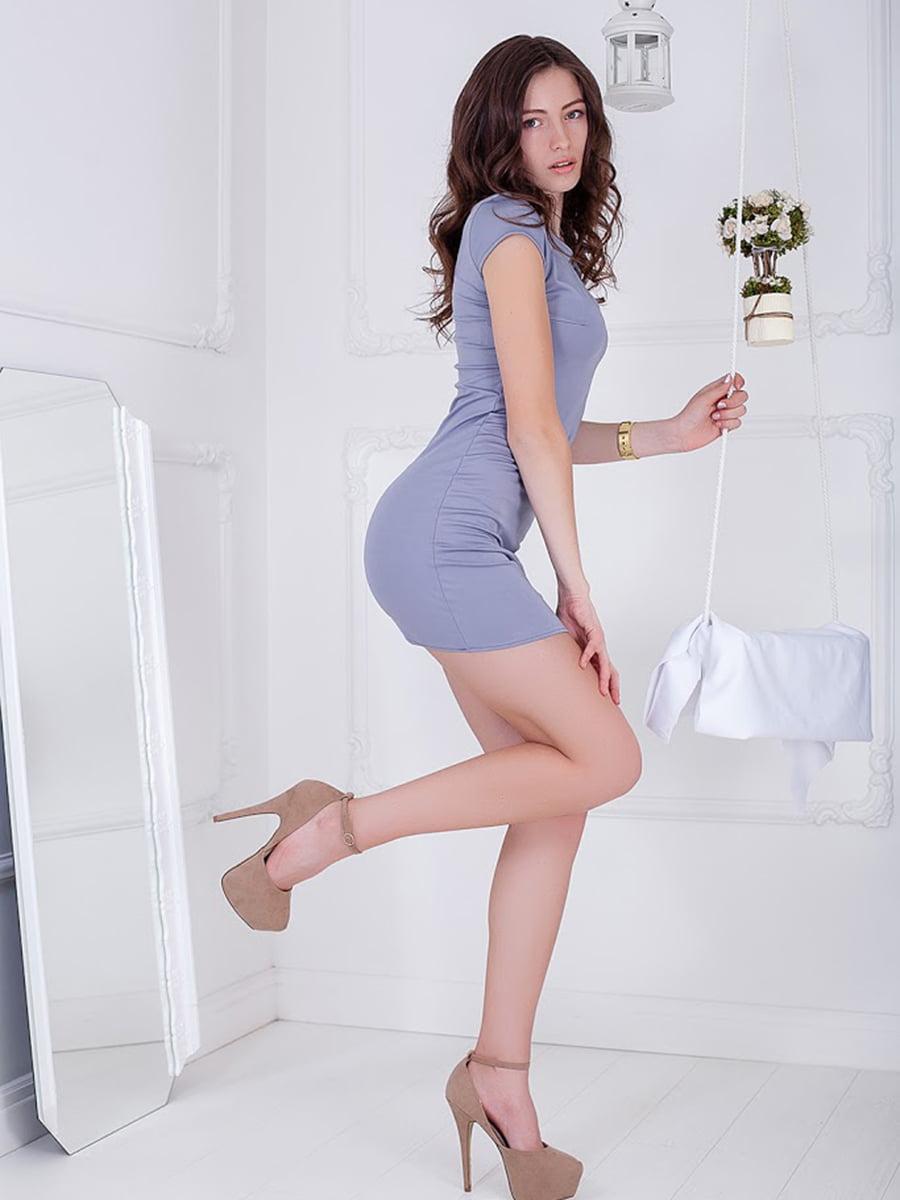 Платье серое | 5036527