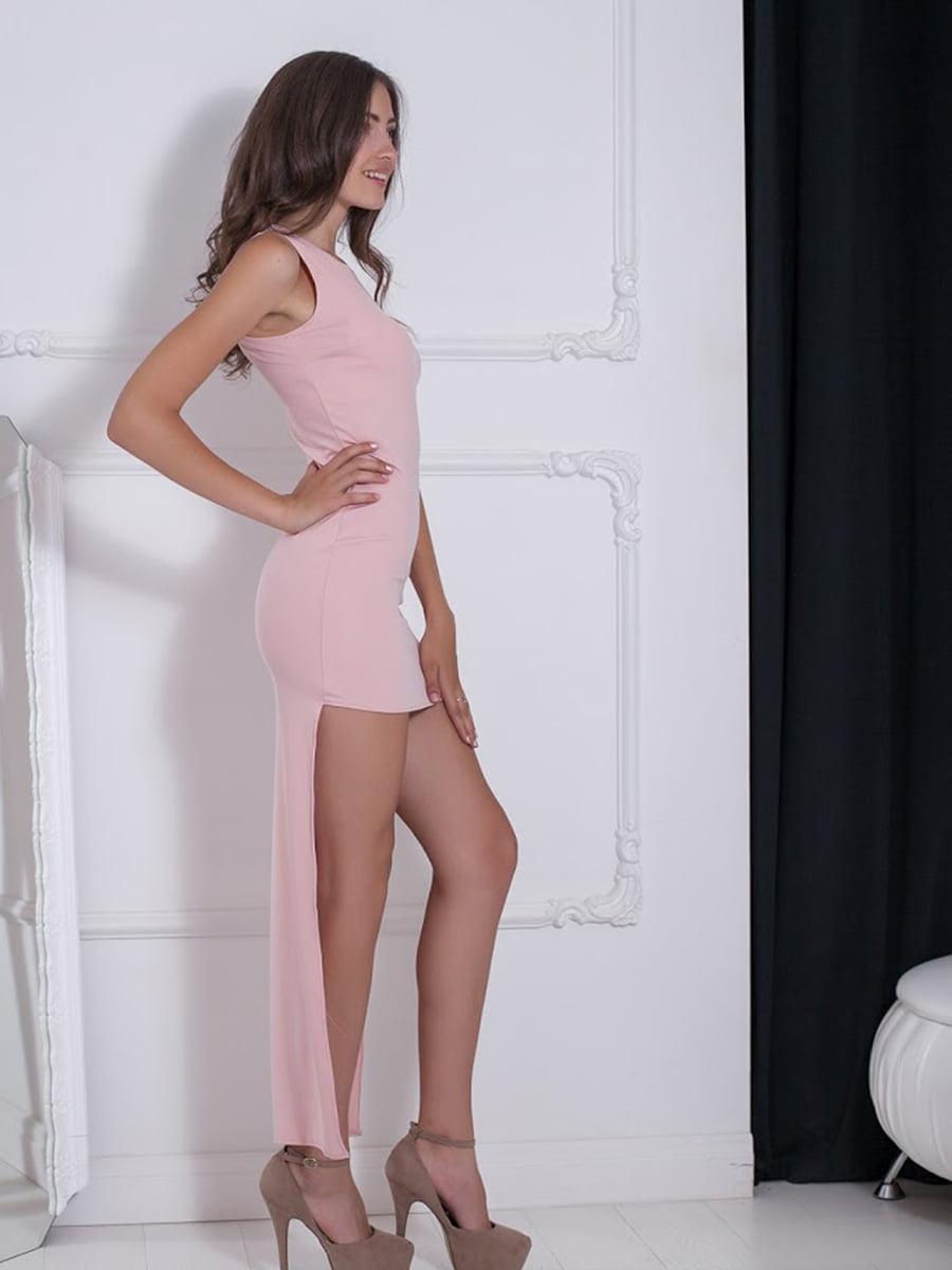 Платье розовое | 5036544