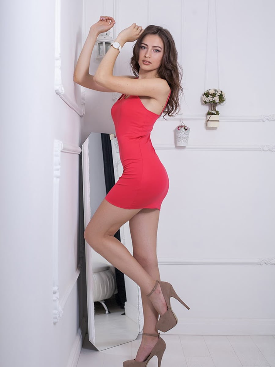 Платье красное | 5036552
