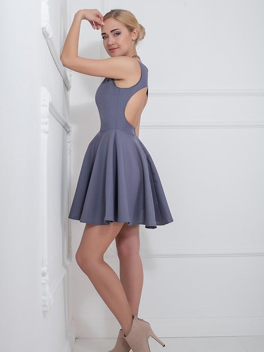 Платье серое | 5036577