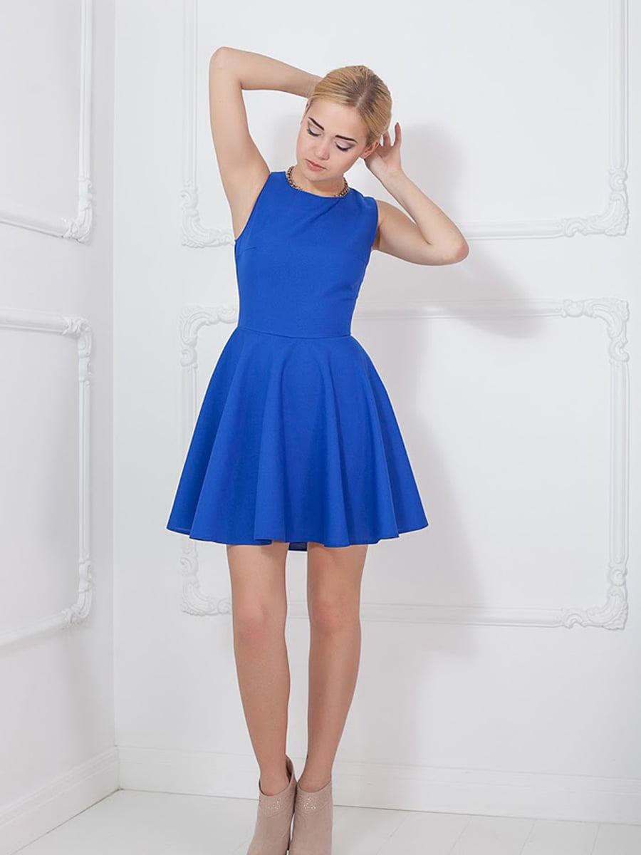 Платье синее   5036578