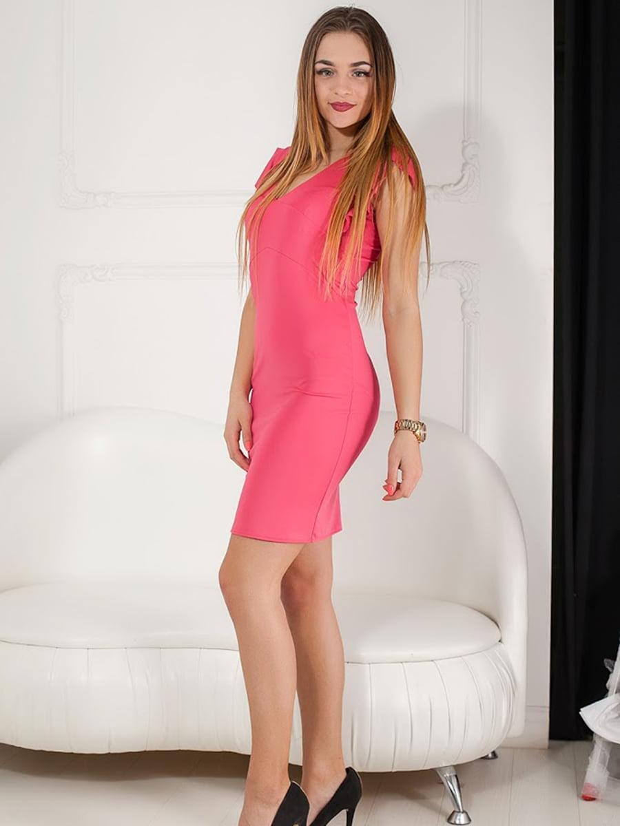 Платье розовое   5036603