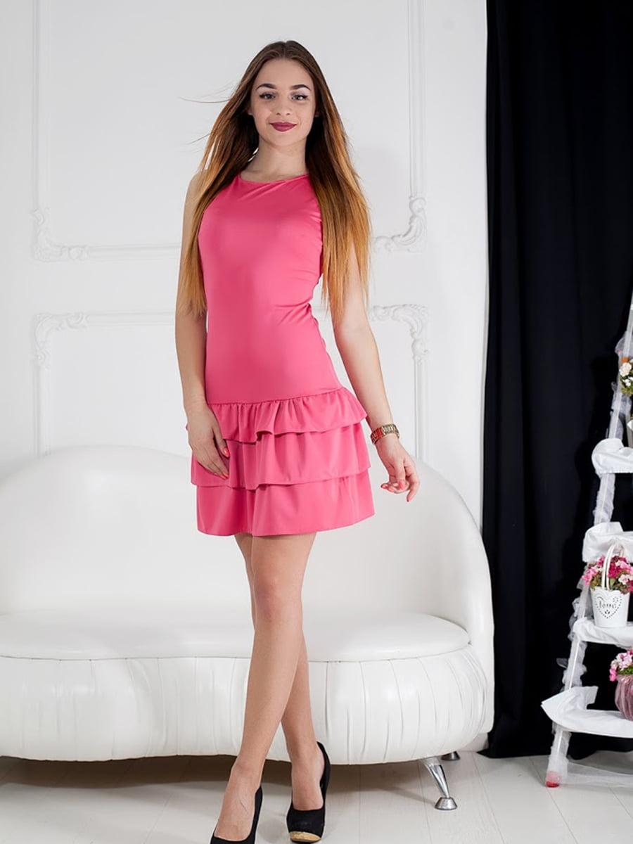 Платье розовое | 5036619
