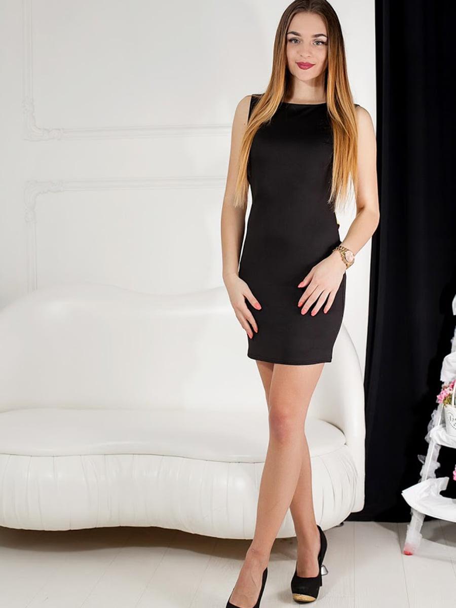 Платье черное | 5036624