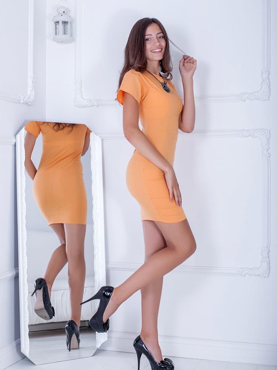 Платье оранжевое | 5036648