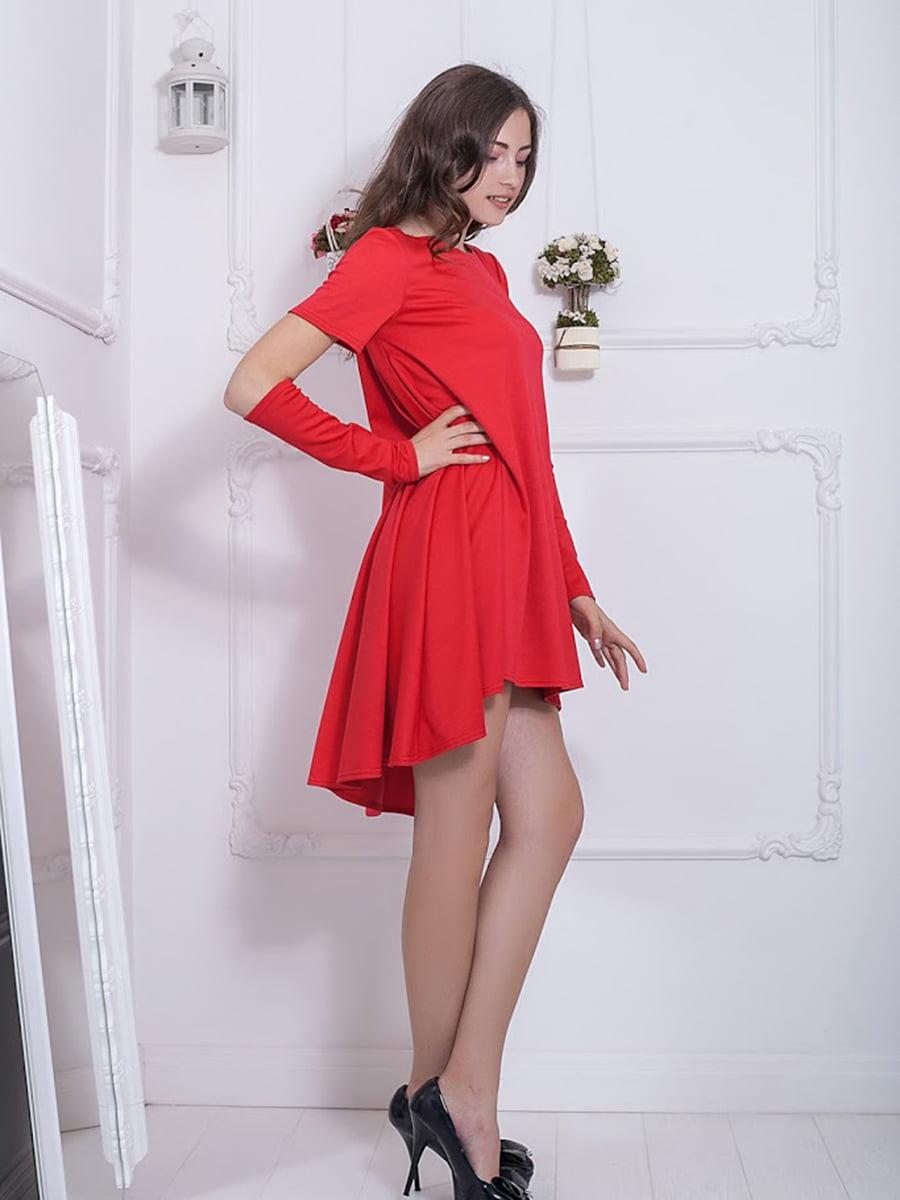Платье красное | 5036700