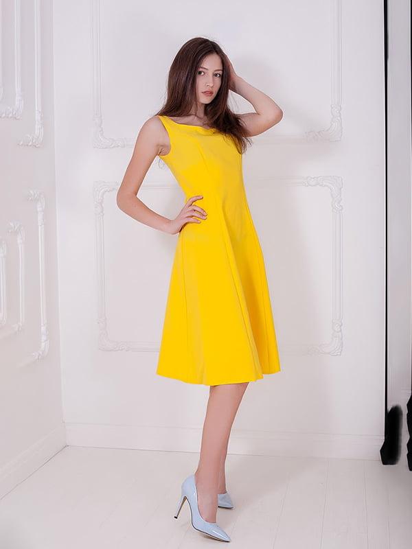 Платье желтое   5036736