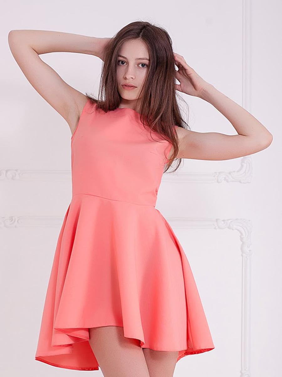 Платье коралловое | 5036745