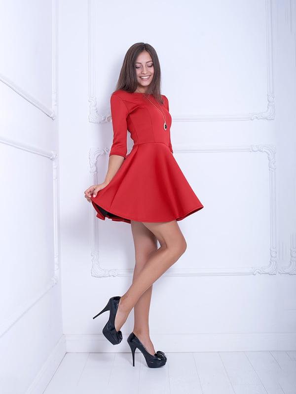 Платье красное   5036789