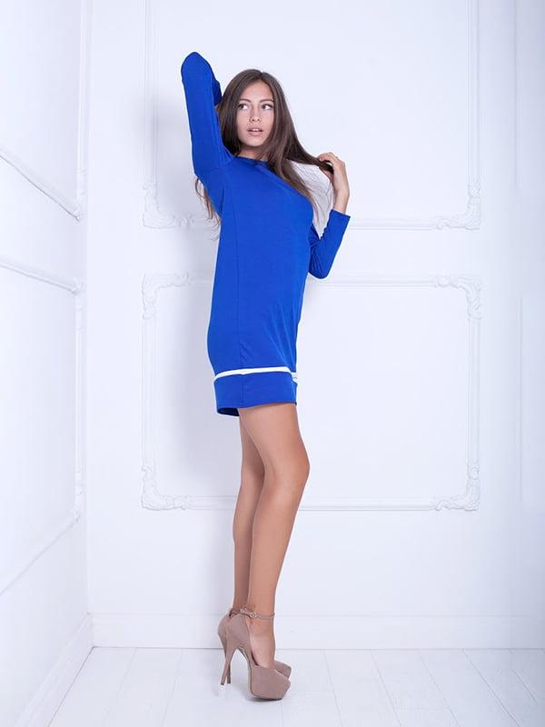 Платье цвета электрик   5036818