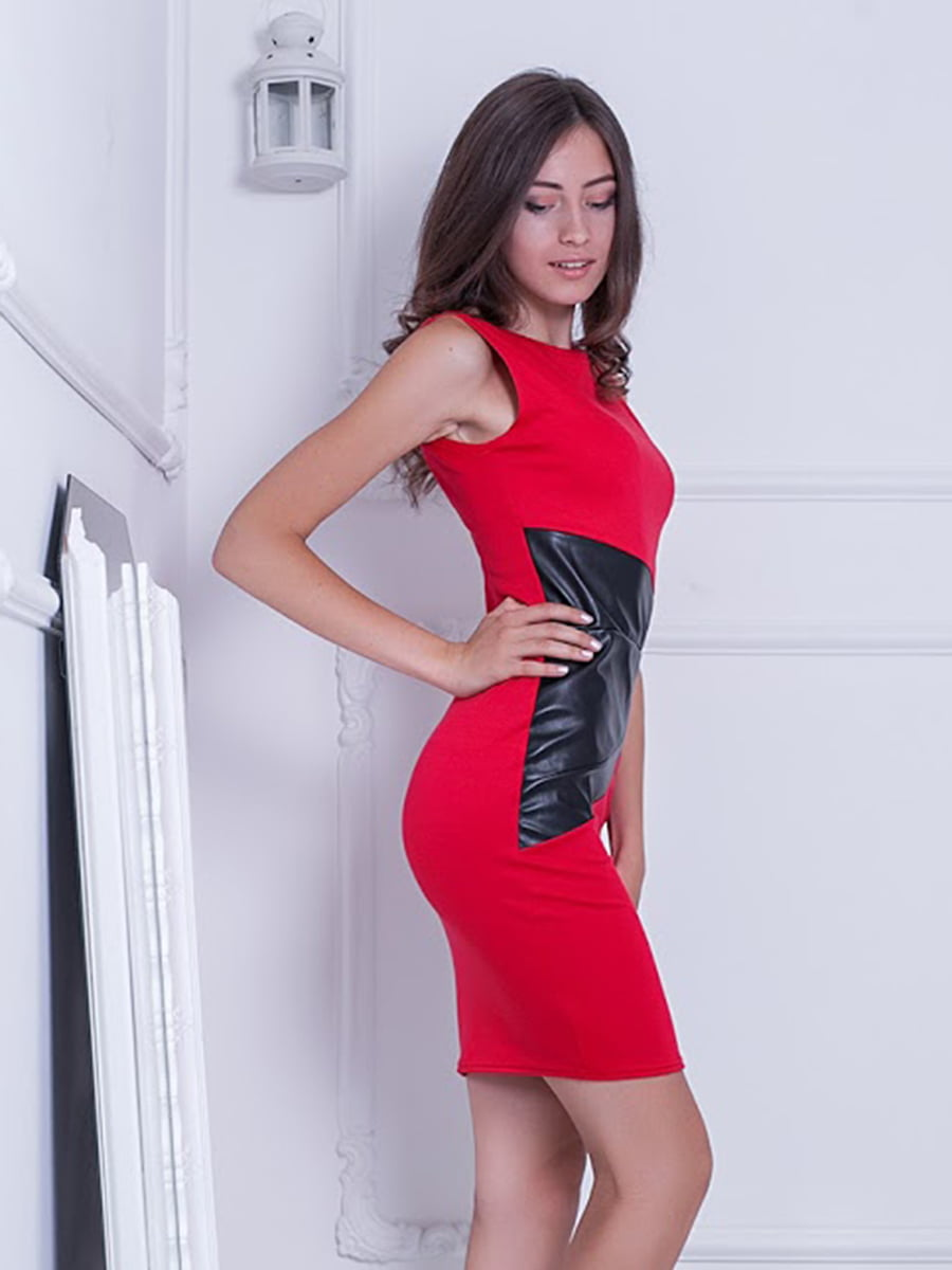 Платье красное | 5036835