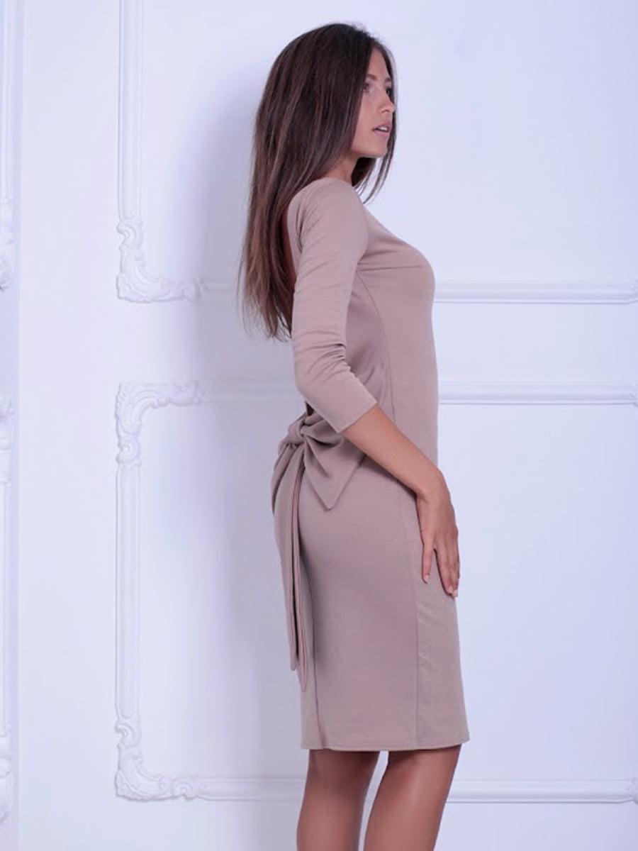 Платье бежевое   5036843