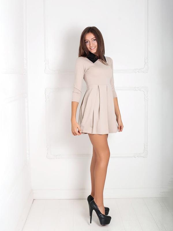 Платье бежевое | 5036853