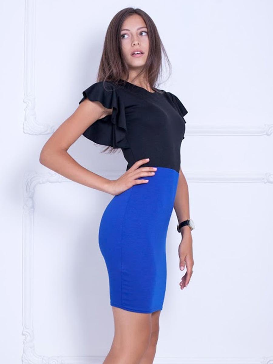 Платье двухцветное | 5036885