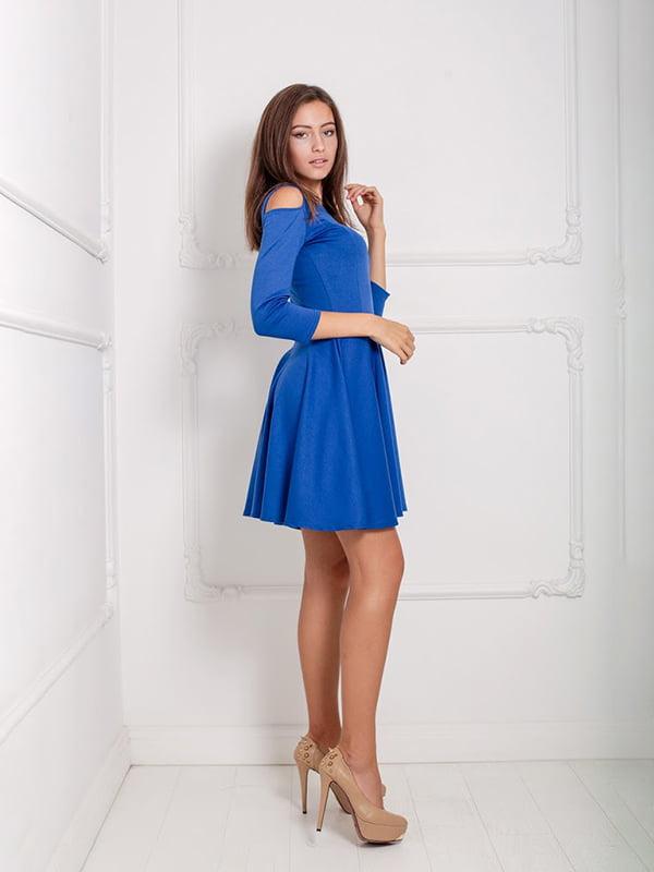 Платье синее   5036897