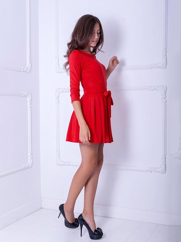 Платье красное   5036908