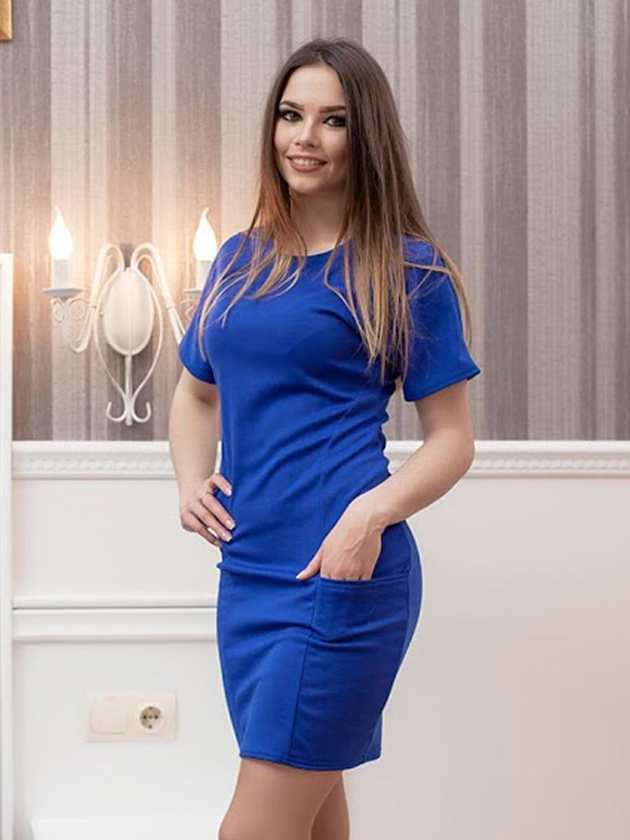 Платье синее | 5036922
