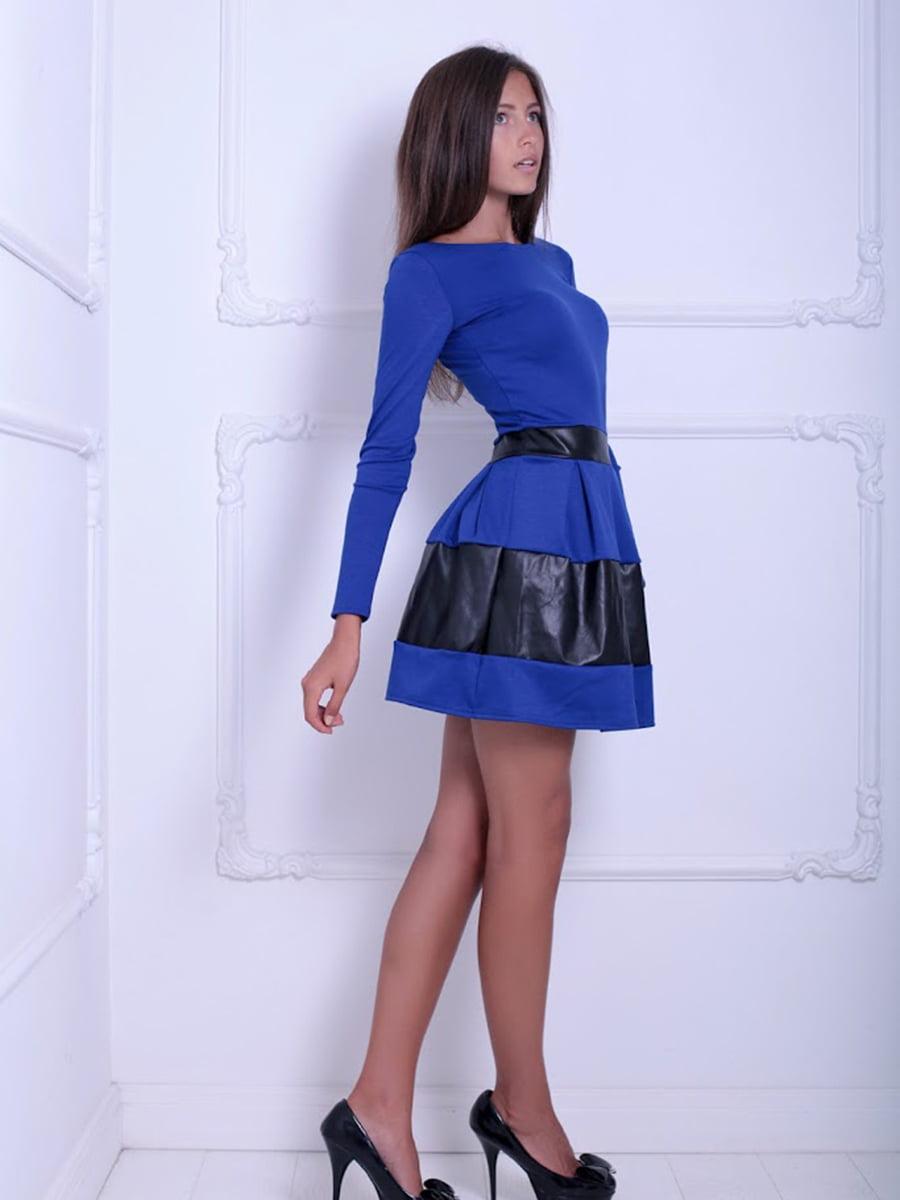 Платье двухцветное | 5036953