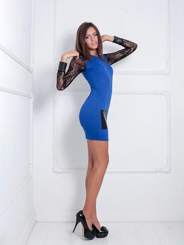 Платье синее | 5036967