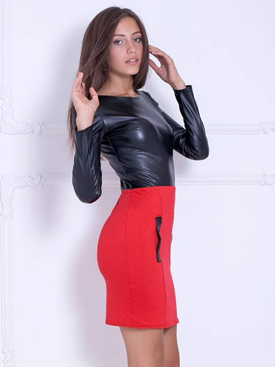 Платье двухцветное | 5036981