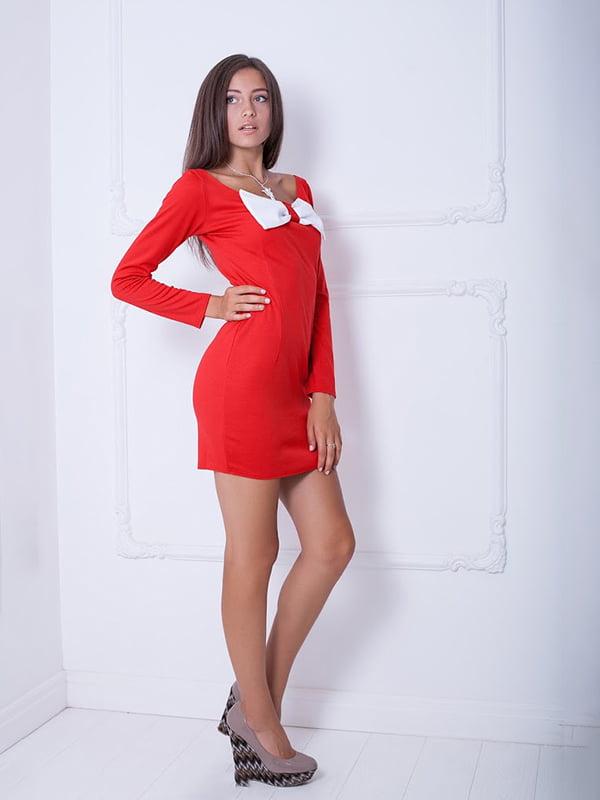 Платье красное | 5036993