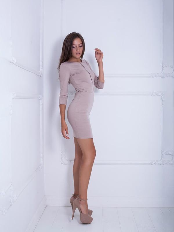Платье бежевое | 5037018