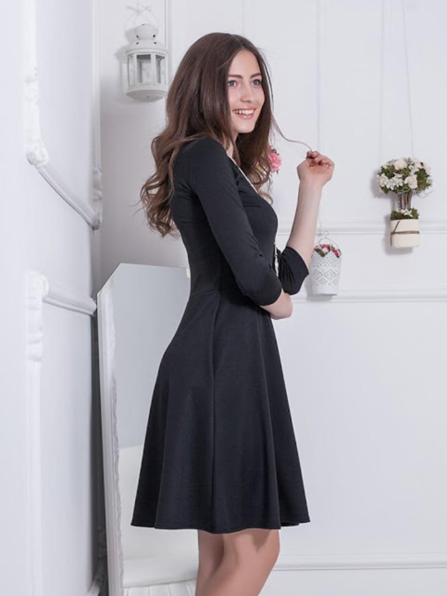 Платье черное | 5037048
