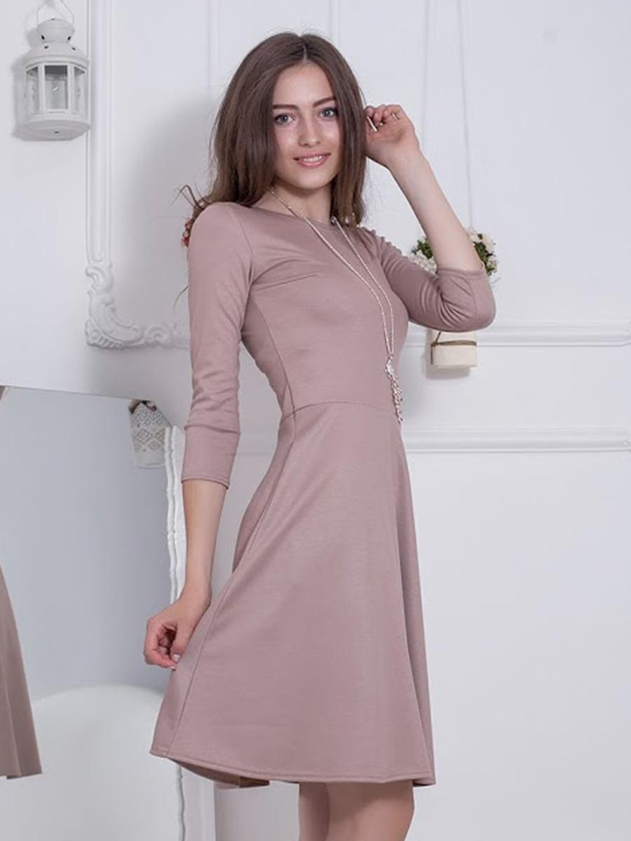 Платье бежевое   5037049