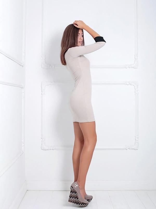 Платье бежевое   5037077