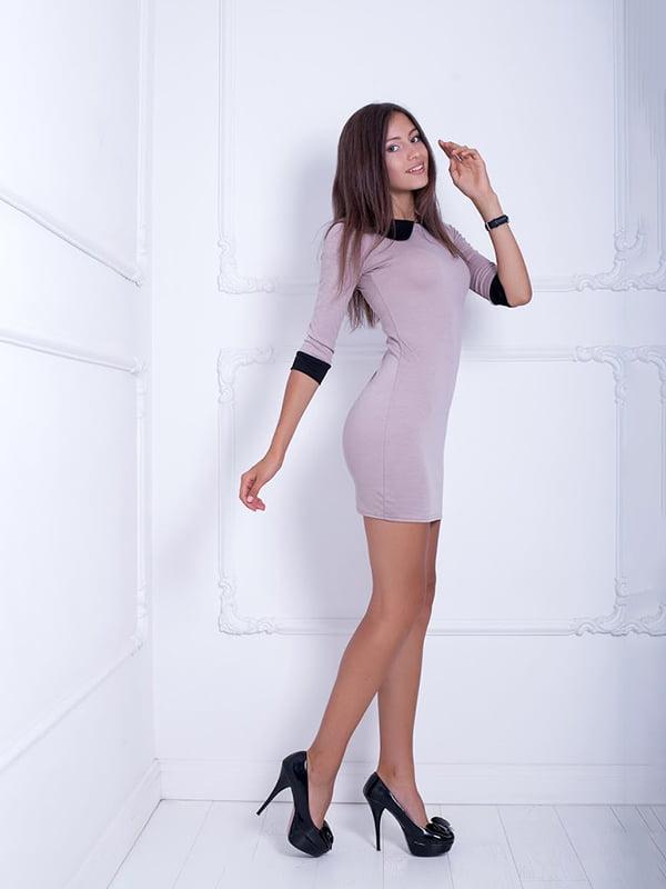 Платье бежевое | 5037082