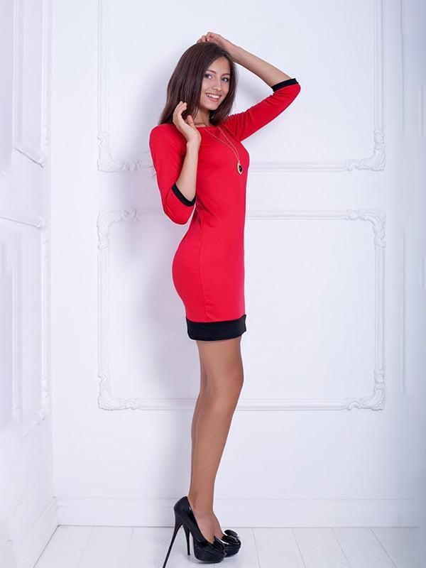 Платье красное   5037095