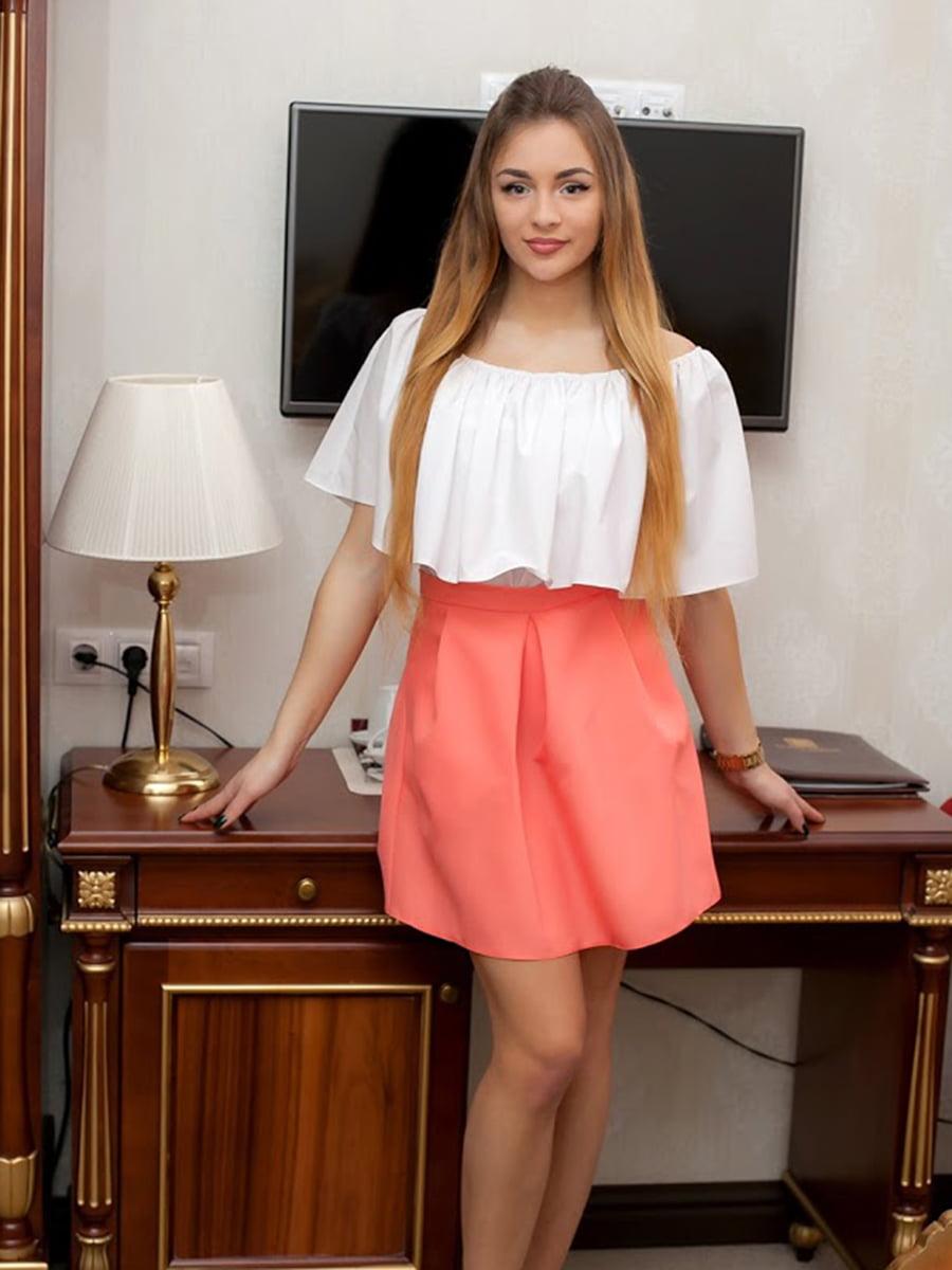 Юбка персикового цвета | 5037140