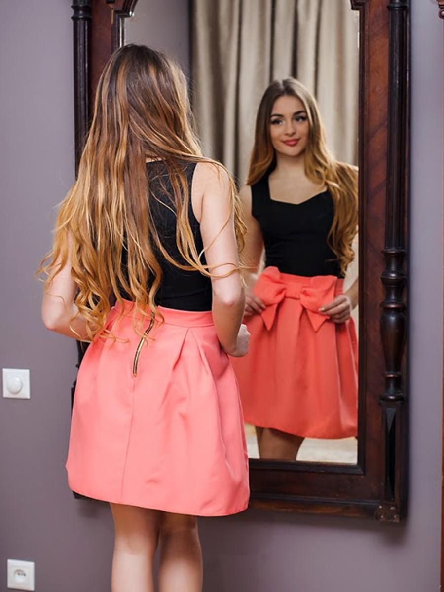 Юбка персикового цвета | 5037153