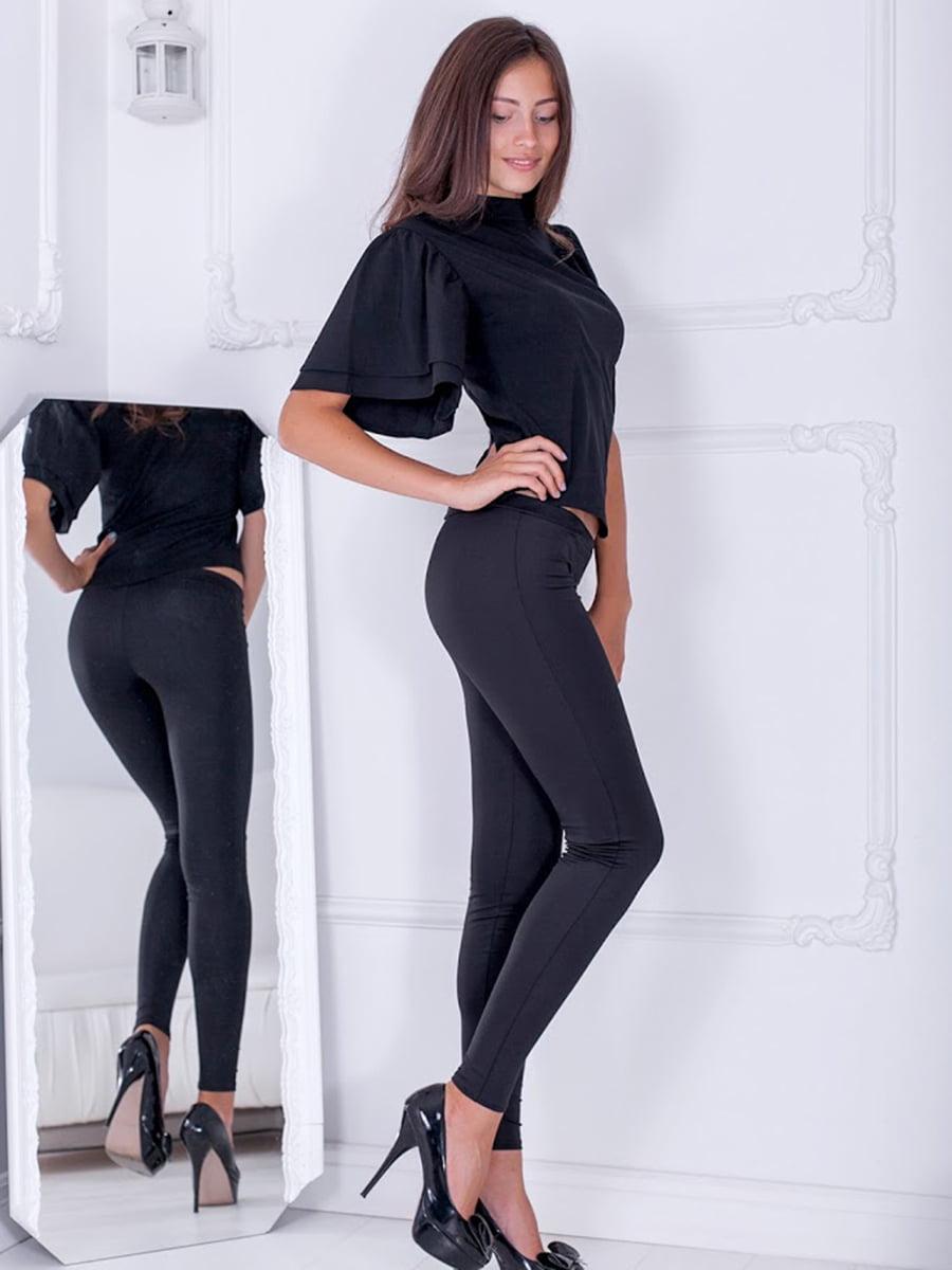 Блуза черная   5037165
