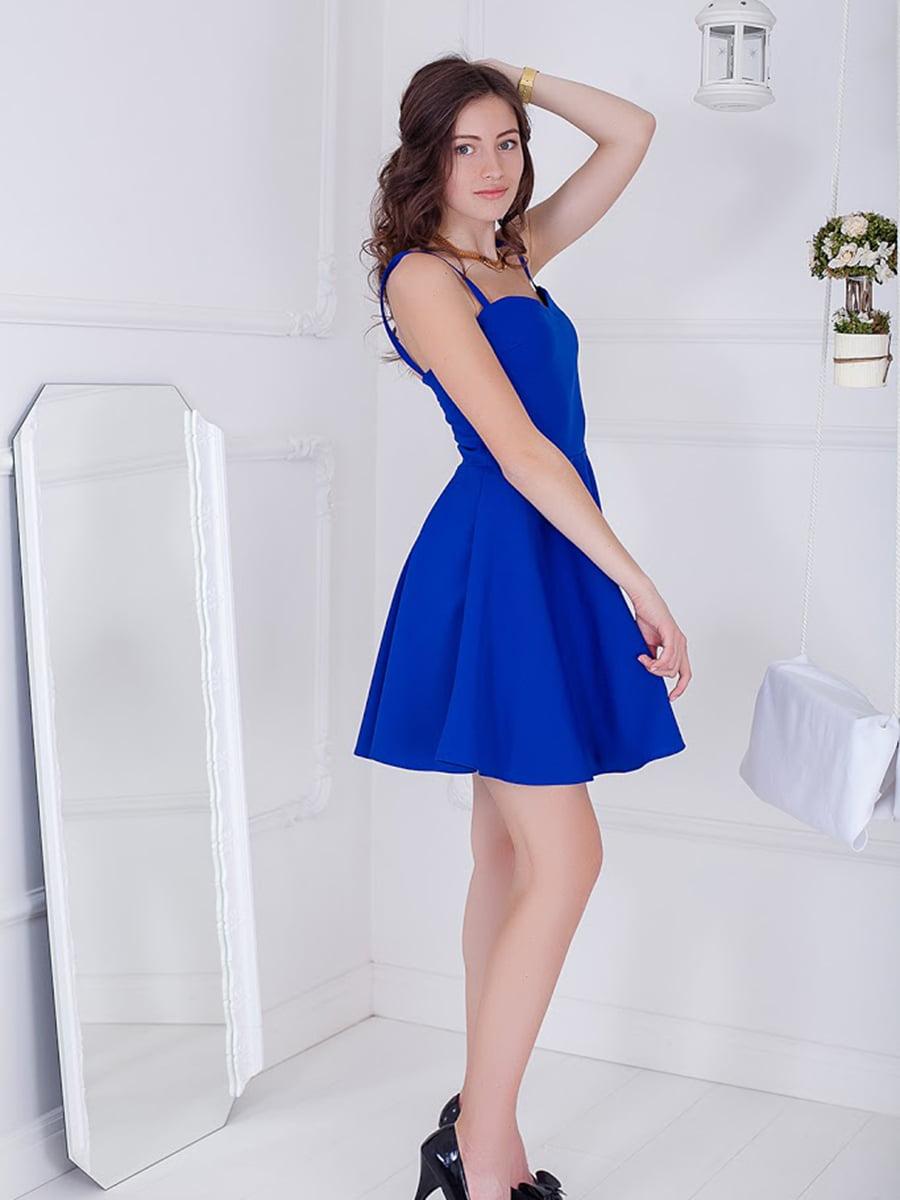 Платье синее | 5037178